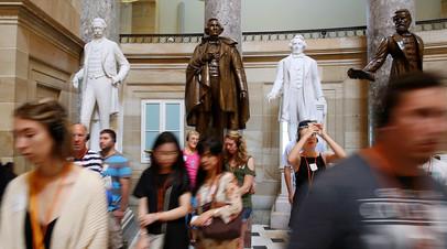 Статуи конфедератов, Капитолий