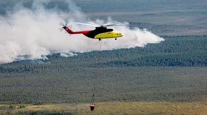 Лесопожарные службы потушили в России 70 природных пожаров за сутки