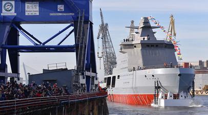 Арктика на замке: чем уникален первый крупнотоннажный корабль ледового класса для ФСБ «Пурга»