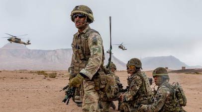 Военнослужащие Соединённого Королевства