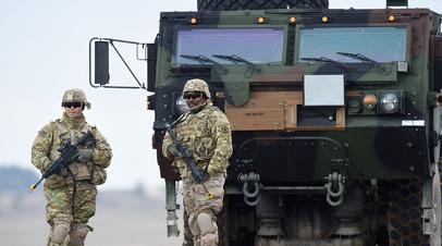 Американские войска в Германии