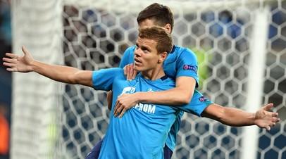 Российский футболист Александр Кокорин