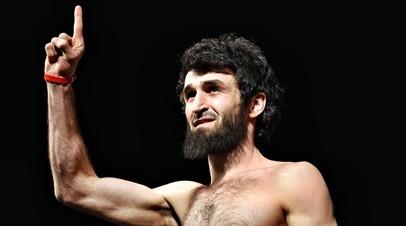 Российский боец Забит Магомедшарипов