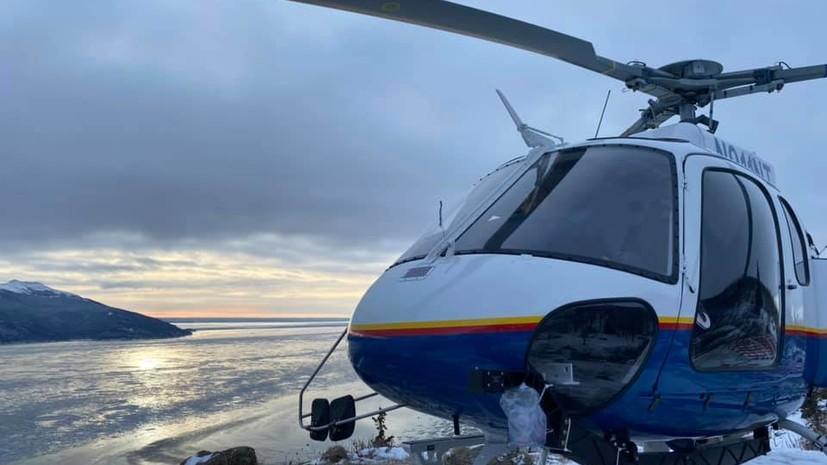 На Аляске столкнулись два небольших самолёта