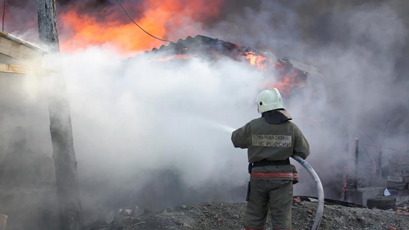 После пожара на заправке в Краснодарском крае возбуждено дело