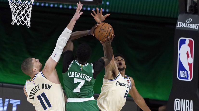 Адетокунбо побил рекорд О'Нила в матче НБА «Милуоки» — «Бостон»