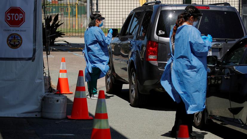 Трамп заявил о проведении 60 млн тестов на коронавирус в США