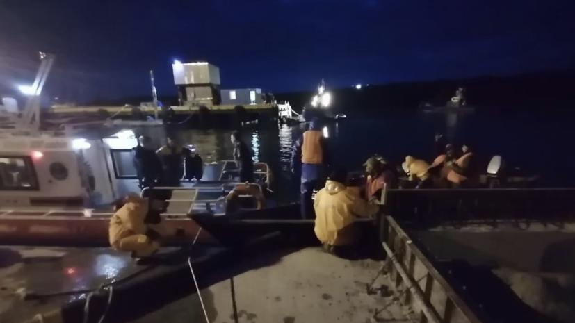 В МЧС сообщили о спасении семи рыбаков с судна на Курилах