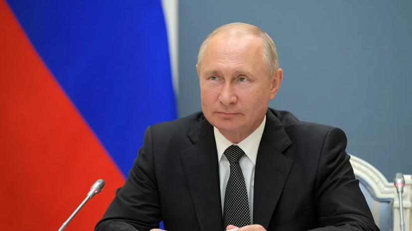 Путин рассказал о высочайшем уровне подготовки российских десантников