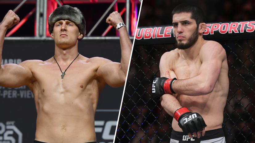 В компании с чемпионом: Волков и Махачев могут выступить на одном турнире UFC с Нурмагомедовым