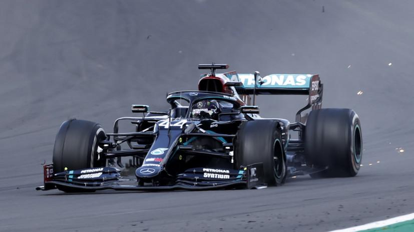 Хэмилтон одержал победу на Гран-при Великобритании