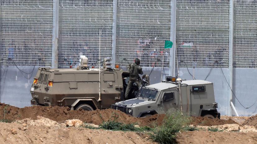 Армия Израиля засекла пуск снаряда со стороны сектора Газа