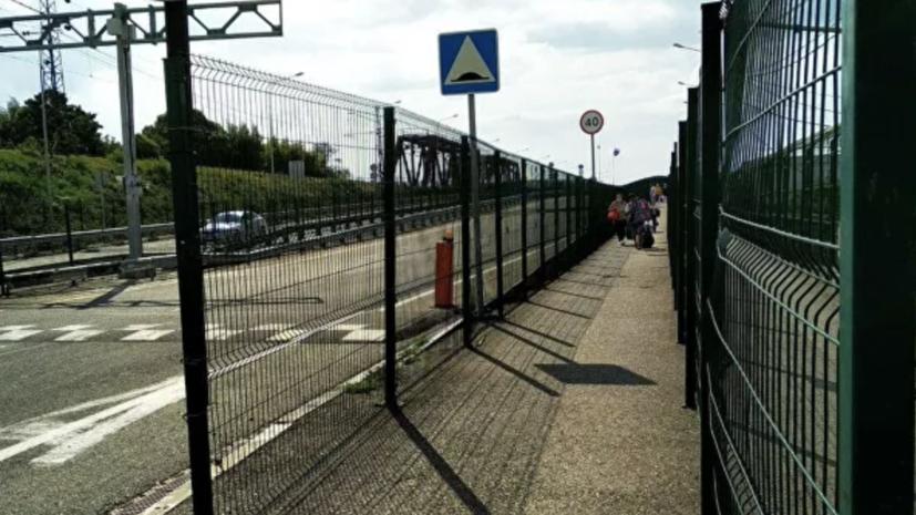 В Абхазии предложили ввести ограничения на границе с Россией