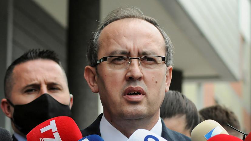 Косовский премьер заболел коронавирусом