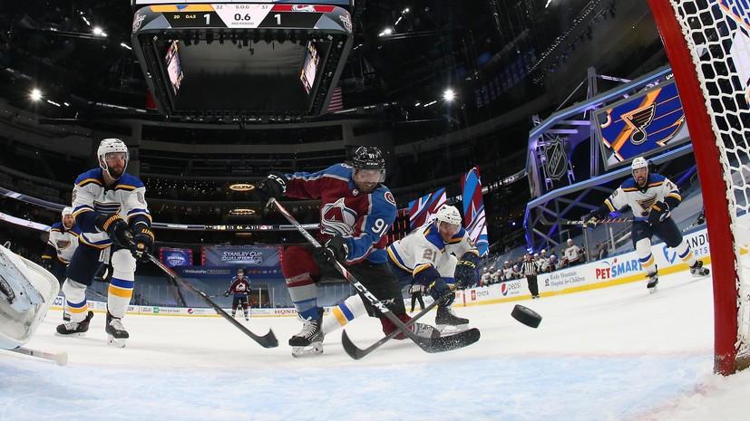 «Колорадо» обыграл «Сент-Луис» в матче плей-офф НХЛ