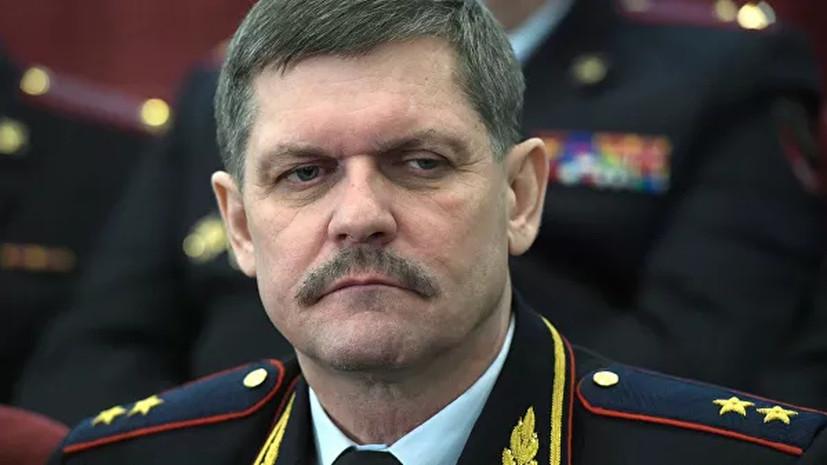 Бывший начальник ГУ МВД по Москве Якунин назначен замглавы ФСИН