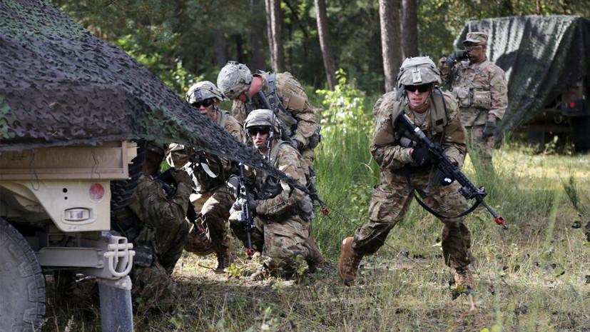 В США заявили о завершении переговоров об отправке военных в Польшу
