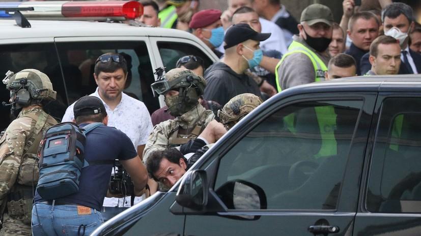 На месте захвата заложников в Киеве не нашли взрывных устройств