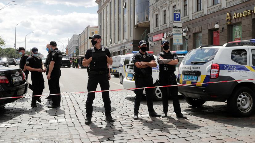 На Украине задержали угрожавшего гранатой полицейским