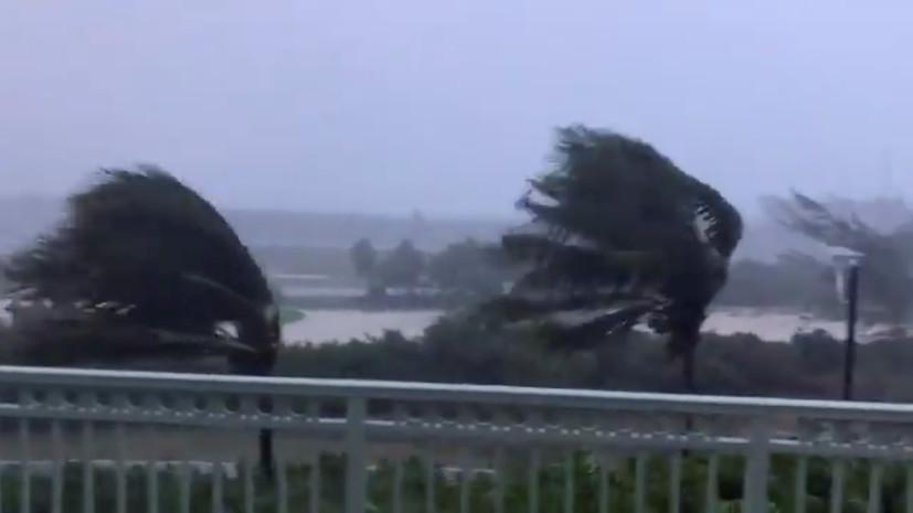 Шторм «Исаиас» усилится до урагана