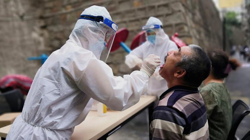 В Китае выявили 57 случаев инфицирования коронавирусом за сутки