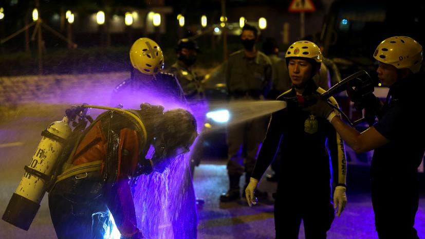 В Китае при взрыве на химзаводе погибли шесть человек