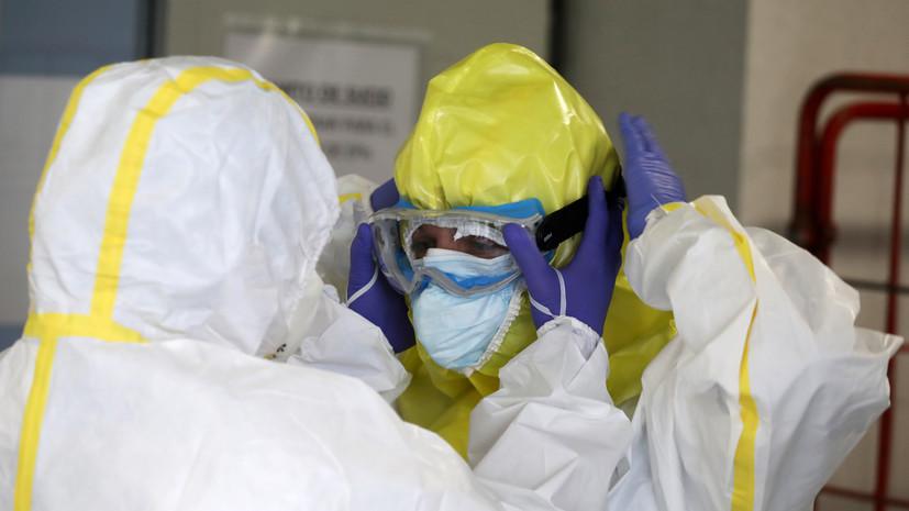 Число случаев коронавируса в Испании превысило 300 тысяч