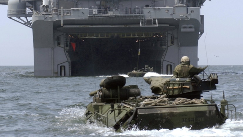 У берегов Калифорнии нашли затонувшую машину ВМС США с погибшими