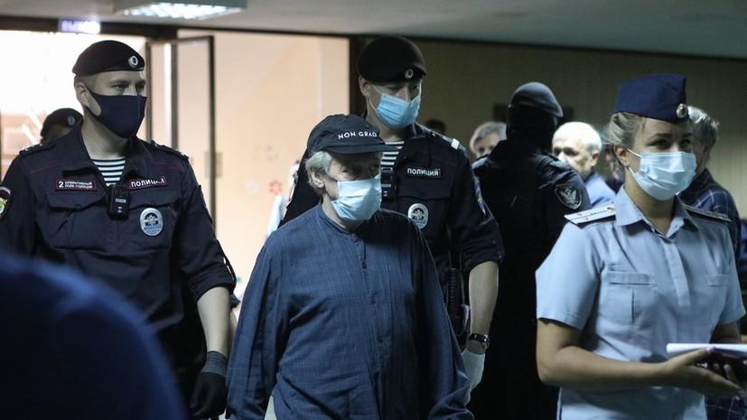 Прокурор заявил о превышении Ефремовым скорости во время ДТП
