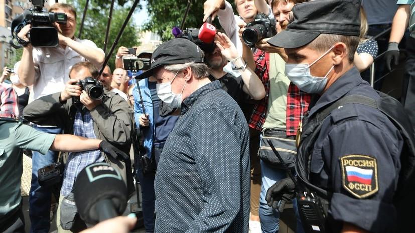 Ефремов заявил, что не может признать вину, так как ничего не помнит