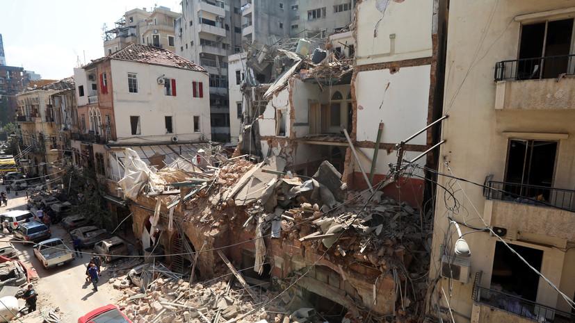 Очевидец из России рассказала о событиях в Бейруте