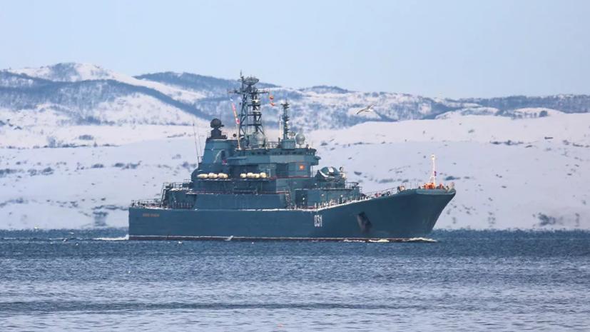 Корабли Северного флота отправились в поход по Севморпути