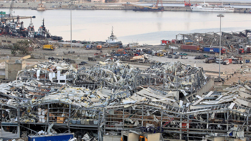 Посол России прокомментировал взрыв в порту Бейрута