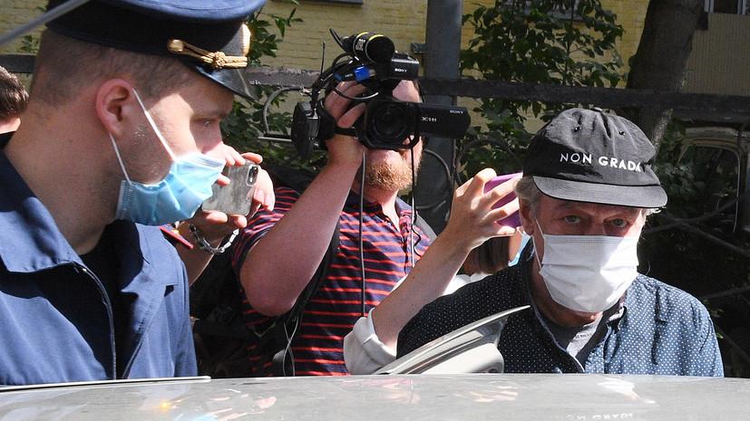 Адвокат прокомментировал данные о наркотиках в машине Ефремова