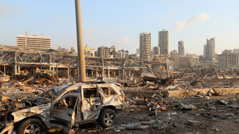 Первый самолёт МЧС России с мобильным госпиталем вылетел в Бейрут