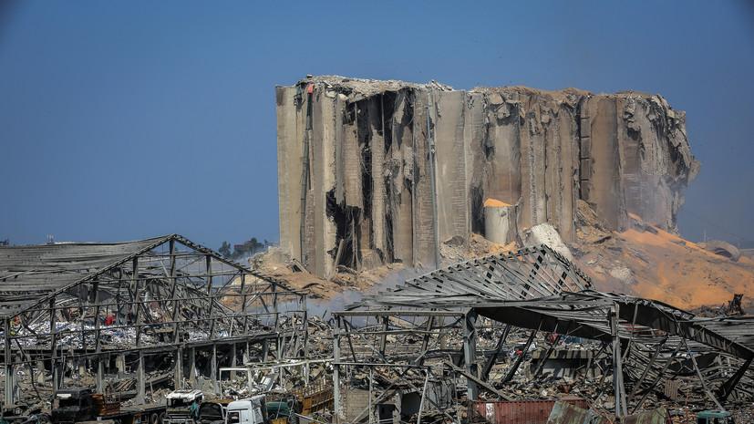 Глава Пентагона прокомментировал взрыв в Бейруте