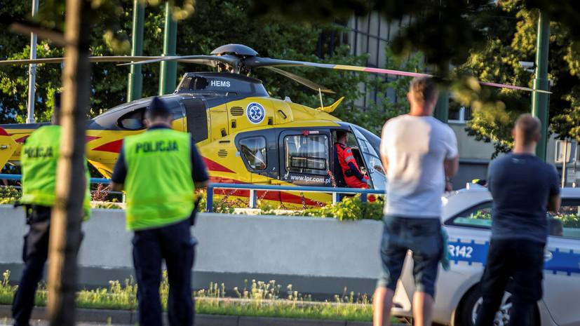 Велогонщик Якобсен впал в кому после столкновения на трассе в Польше