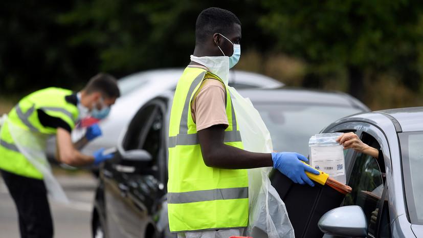 В Британии число случаев коронавируса превысило 307 тысяч