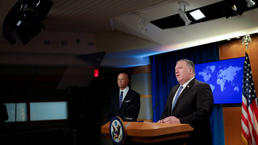 Помпео заявил об ужесточении политики США в отношении приложений КНР
