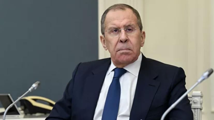 Лавров заявил о необходимости исключения риска ядерной войны