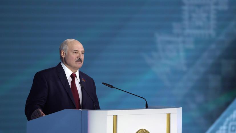 Лукашенко пообещал не допустить «костра» в центре Минска из-за выборов