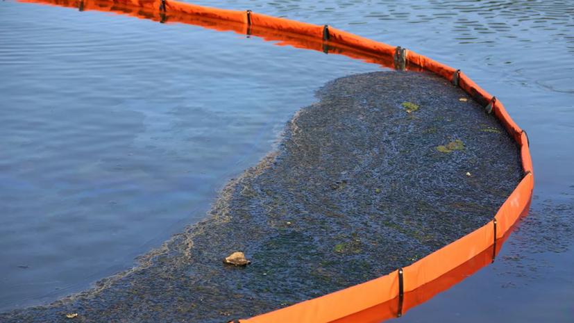 В Сургуте ликвидировали последствия разлива нефтепродуктов
