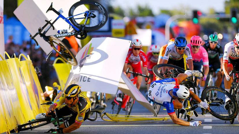«Бейся за свою жизнь, Фабио»: что известно о состоянии велогонщика Якобсена после падения на «Туре Польши»