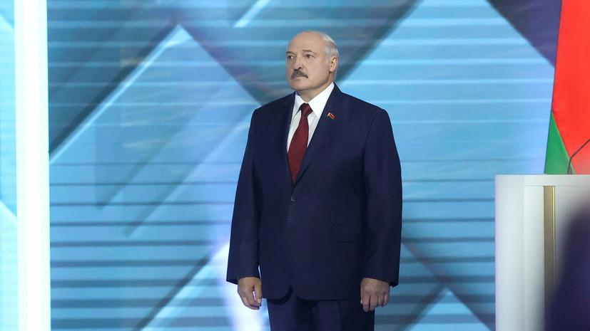 Лукашенко заявил, что ему «подкинули» коронавирус