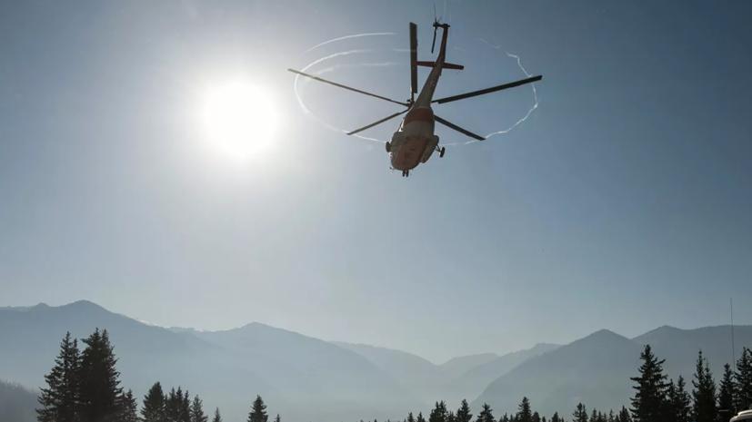 Стала известна причина жёсткой посадки вертолёта в Алтайском крае