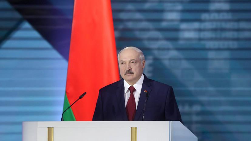 Лукашенко назвал младшего сына оппозиционно настроенным человеком
