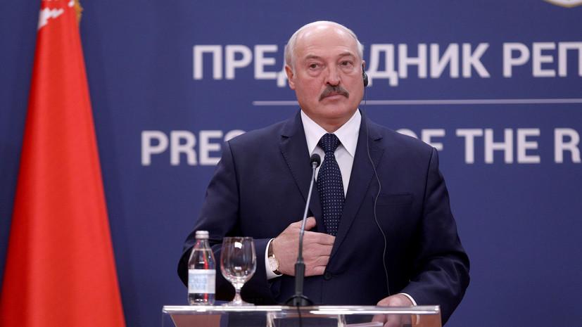 Лукашенко назвал условие выдачи задержанных россиян