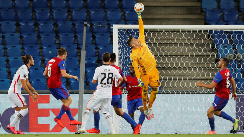 «Базель» победил «Айнтрахт» и вышел в четвертьфинал Лиги Европы