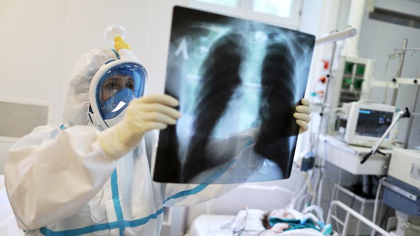 В России за сутки выявлен 5241 случай коронавируса