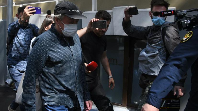 Допрос Ефремова в суде может состояться 11 августа